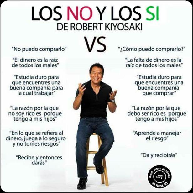 Los No y los Si de Robert Kiyosaki
